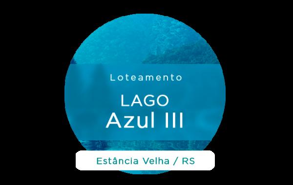 LOTEAMENTO LAGO AZUL III